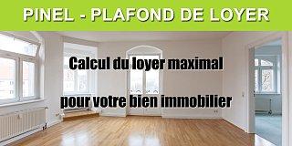 Simulation Pinel - Calcul du loyer maximum 2020