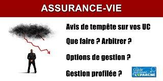 Assurance-vie : avis de tempête sur vos unités de compte ?