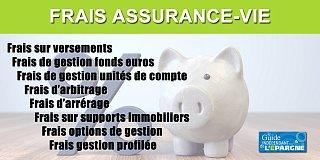 Frais assurance vie