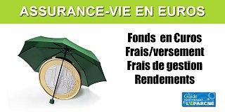 Assurance-vie monosupport (en euros)