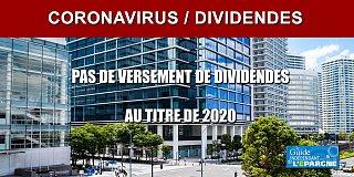 Les entreprises ayant recours aux aides de l'État (chômage partiel, report de charges, PGE, etc.) interdites de versement de dividendes 2020 ?