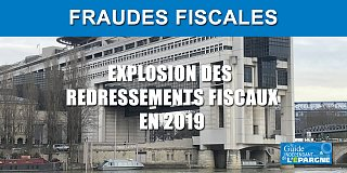 Fraude fiscale : les redressements fiscaux 2019 rapportent bien plus que prévu