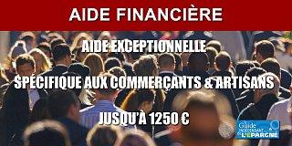 Nouvelle aide de 1250 euros versée uniquement aux artisans et aux commerçants par le CPSTI