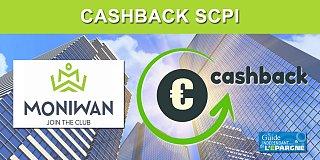 SCPI : 2.50% de votre investissement remboursés via Moniwan jusqu'au 29 février 2020