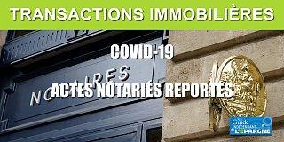 Coronavirus : blocage des transactions immobilières, le gouvernement promet une amélioration