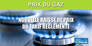 Prix du Gaz : nouvelle baisse de -2.80% au 1er juin, -25.30% depuis le 1er janvier