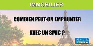 Avec le SMIC, on peut s'acheter un 10m2 sur Paris en s'endettant pendant 25 ans. En théorie seulement...