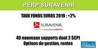 Le PERP Suravenir évolue : nouvelles options de gestion, 40 nouveaux supports, dont 2 SCPI