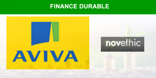 Aviva France, fortement engagé en faveur de la finance durable, rejoint le Cercle des Institutionnels de Novethic