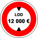 Le plafond des versements sur le LDD est de 12 000 € depuis le 1er octobre 2012