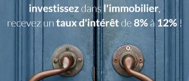 Des mises en avant qui font mouche auprès des investisseurs, taux élevés et immobilier, le cocktail gagnant pour séduire les Français! (source image WiSeed)