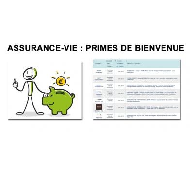Assurance-vie : primes de bienvenue, 1.405€ cumulés au 01 février 2020 (9 offres), faîtes votre choix !