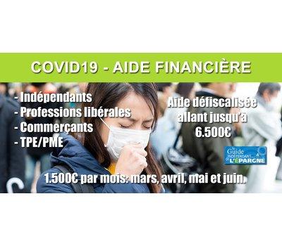 Aide de 1.500€ de juin pour les indépendants, artisans, libéraux, associations, TPE