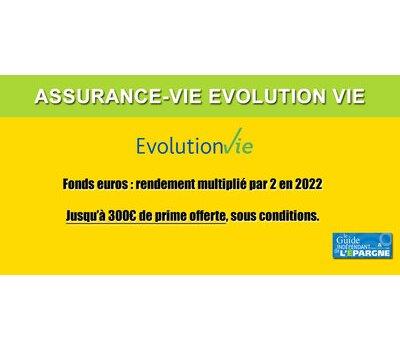 Assurance-Vie Évolution Vie (AVIVA) : 350€ offerts et le rendement de votre fonds euros doublé en 2020 et 2021, à saisir avant le 10 août 2020